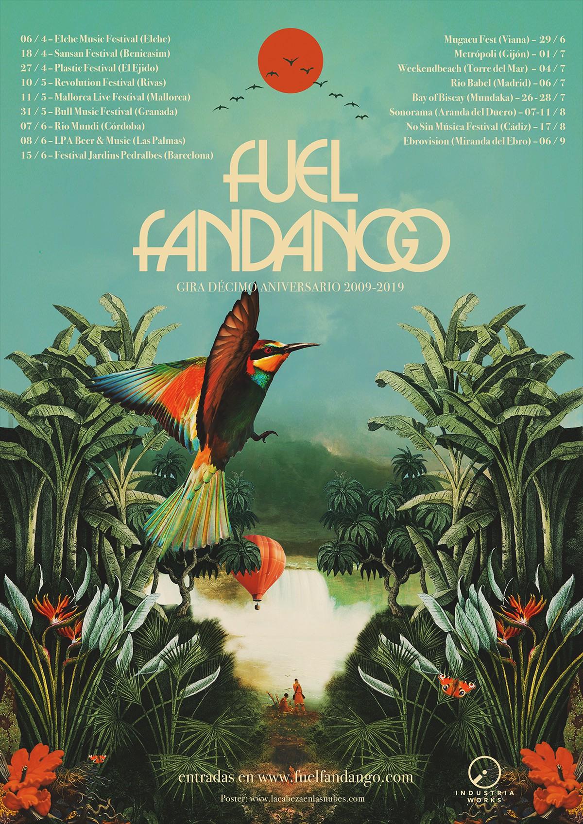 Fuel Fandango conciertos latinoamérica 2018